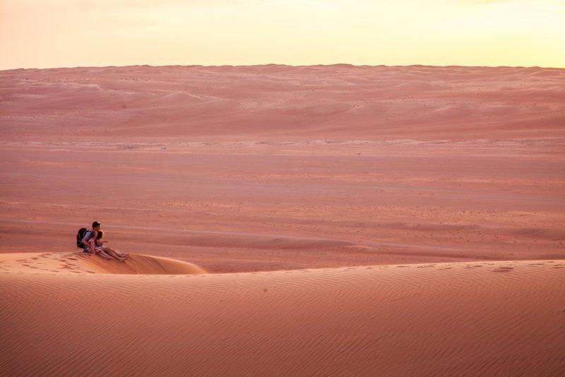 Oman Juan Martinez Road Trip in Oman Desert sunsets