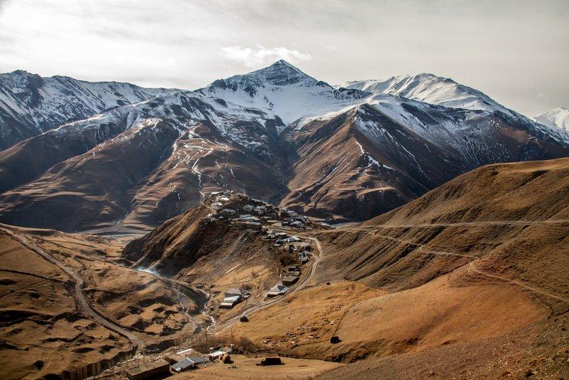 road trip in Azerbaijan Khinalq