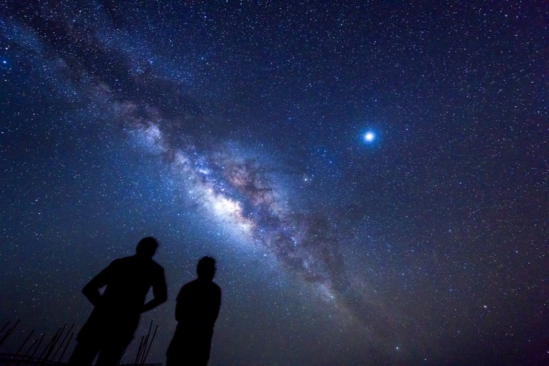 Camera settings on How to photograph the milky way Ethiopia