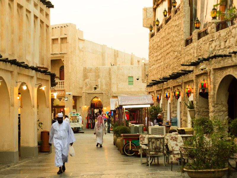 Tip to Travel Qatar - Visit Souq Waqif in Doha Qatar