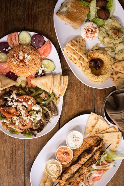 Meze greek food in athens