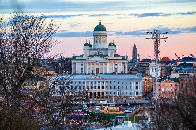 Helsinki is known for being one of the most wealthy capitals in the world