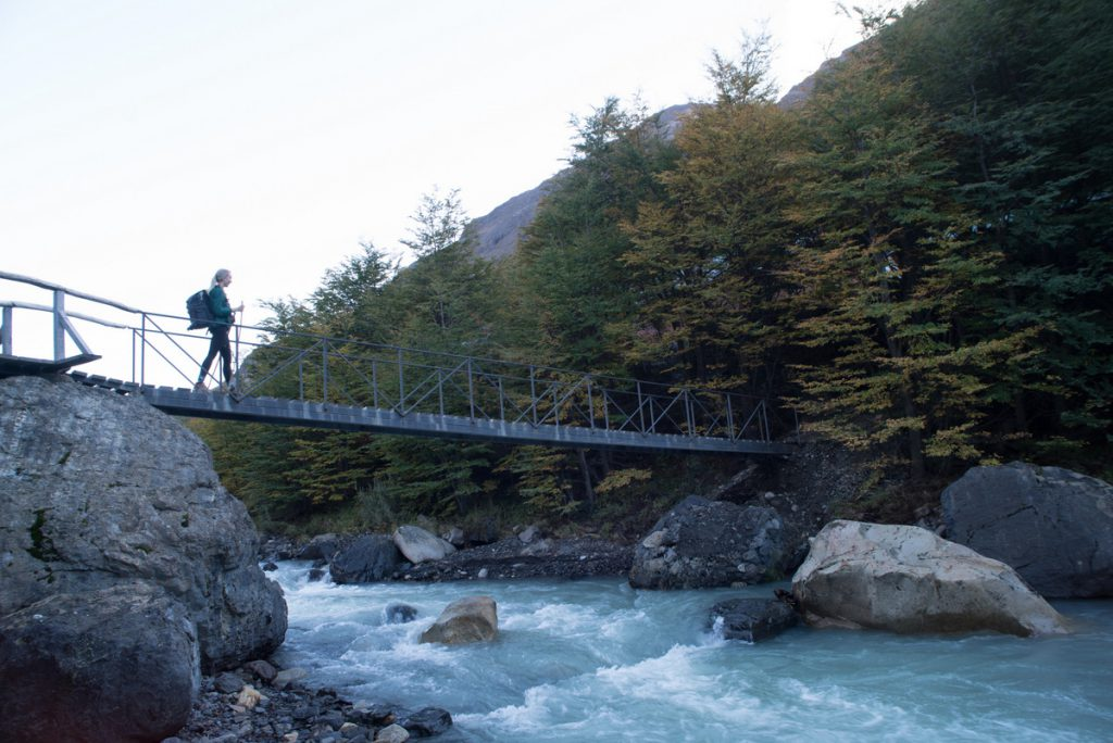 """Paths on the """"W Trek"""" - From here travelers go all  the way up to the Base of the three towers.  - Torres del Paine highlights the natural beauty of Chile"""