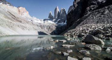 View from Base Torres del Paine highlights the natural beauty of Chile