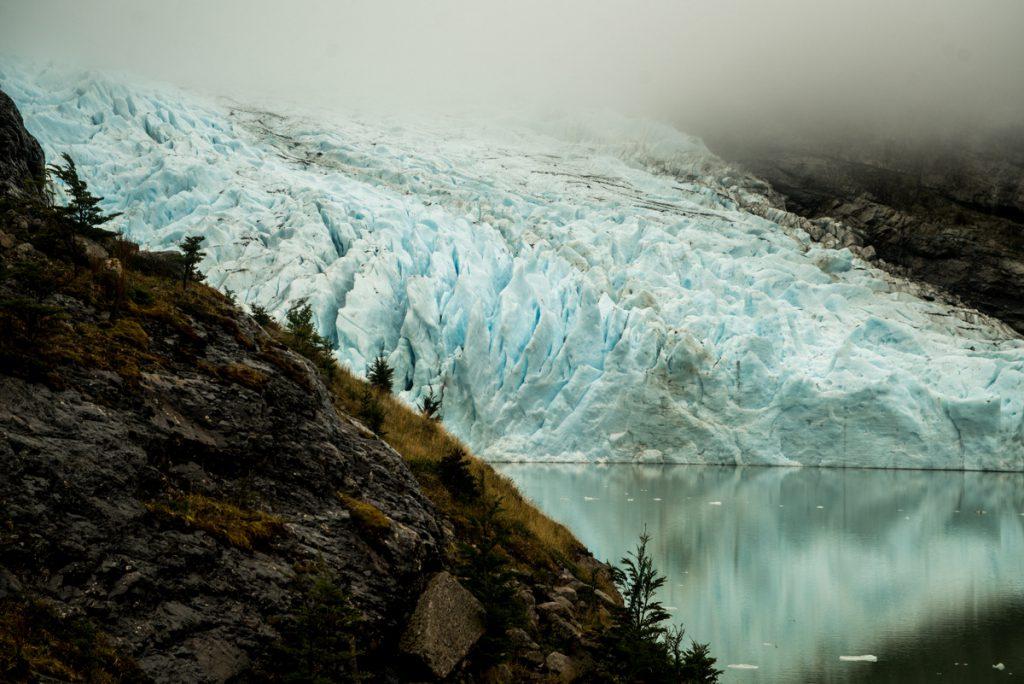 View of the Serrano glacier in the Bernardo O´Higgins National Park