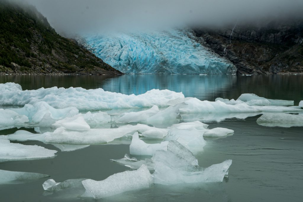 Balmaceda Glacier - Glacier lake at the Bernardo O´Higgins National Park