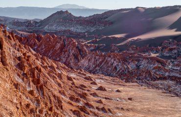 Atacama Desert Moon Valley Sunset Views