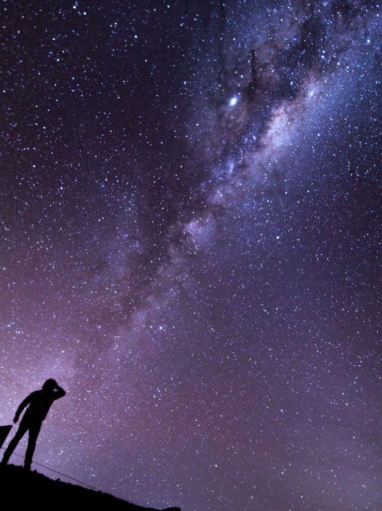 Photographing the clear sky in Atacama