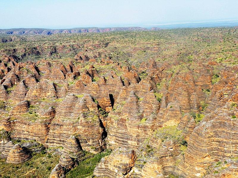 Bundle Bungles - Aerial view of Bungle Bugles in Australia