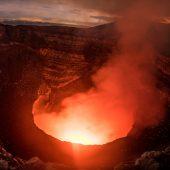 Following the volcano route of Nicaragua - Masaya volcano in Guatemala