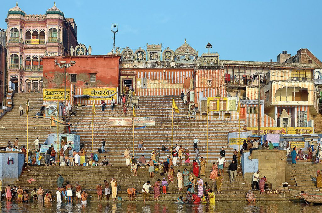 The holy city of Varanasi is a place for tradition