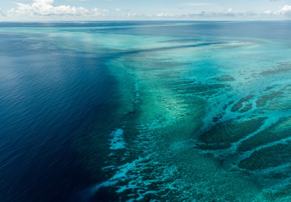 The marine barrier of Palau is one of the most beautiful in the world - Ulong Channel