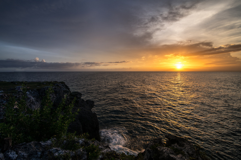 Jamaica, with license to relax - Sunset in Negril -