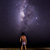 Stargazing in Jamaica - View of the milky way in Jamaica