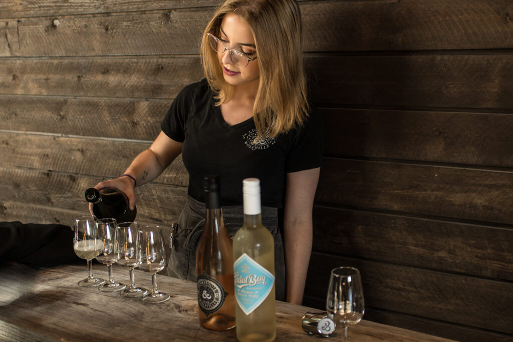 Future of wine - Wine tours offer tastings in different wineries in Nova Scotia