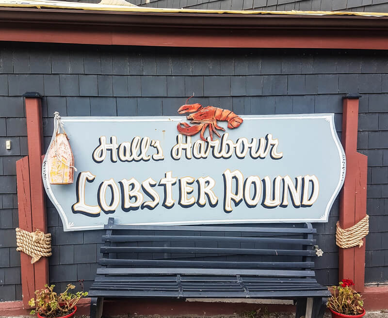 Hall's Harbour Lobster Pound is one of the most recognize establishments for lobster in Nova Scotia