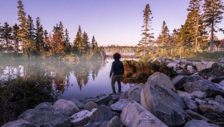 White Point Road trip in Nova Scotia