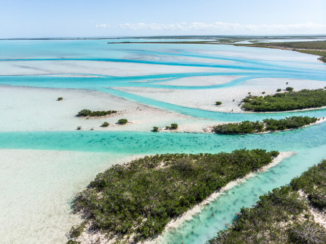 West Side National Park in Andros, Bahamas