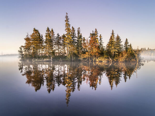 Dawn at White Point in Nova Scotia