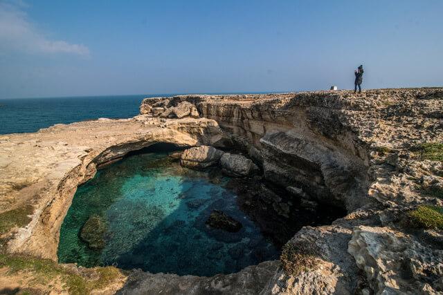 Grotta della Poesia in Puglia, Italy