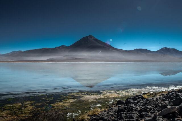 White Lagoon in the Eduardo Avaroa Andean Fauna National Reserve, Bolivia