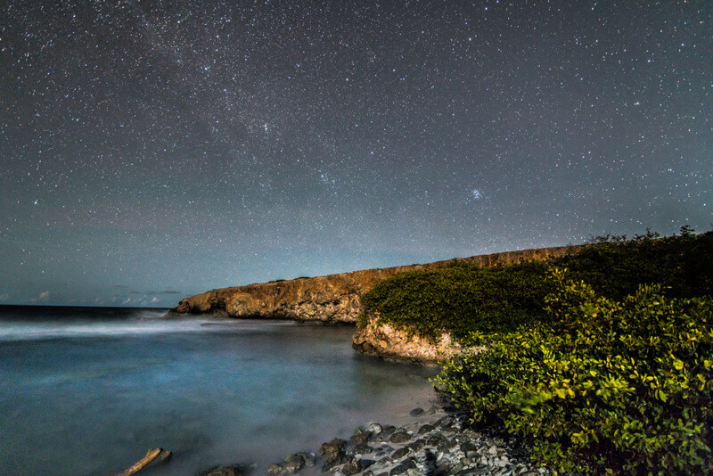 Stargazing at Curaçao Christoffel National Park