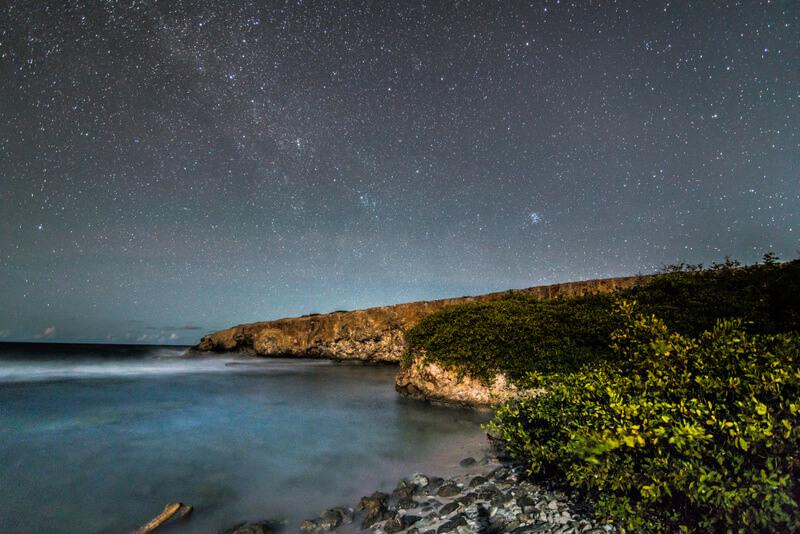 Stargazing at Curaçao Christoffel National Park
