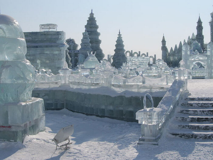 Structures at the Harbin Ice and Snow World