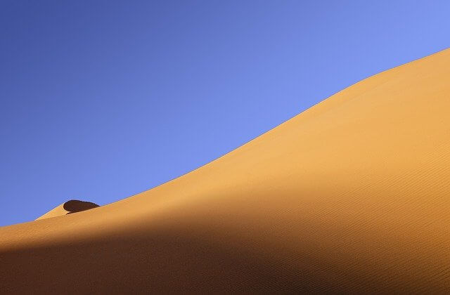 Sand dunes in Qatar - Tours are available for visitors every day