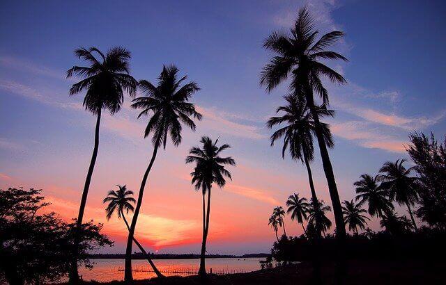 Sri Lankan beaches outside Colombo