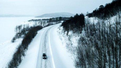 Road trip in Swedish Lapland
