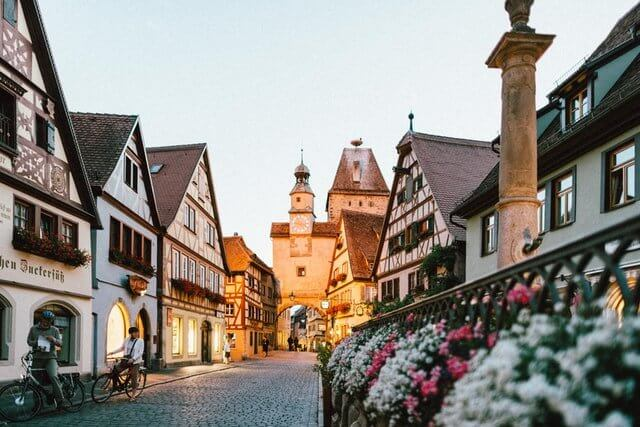 Rothenburg ob the Tauber old town