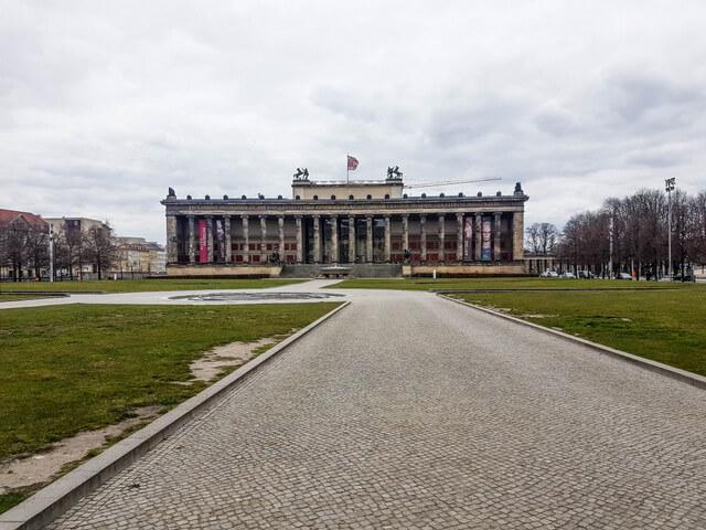Altes Museum during coronavirus
