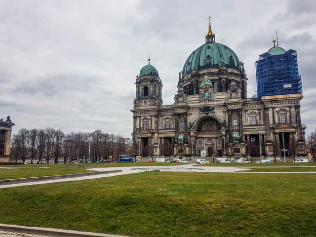 Berliner Dom during Coronavirus