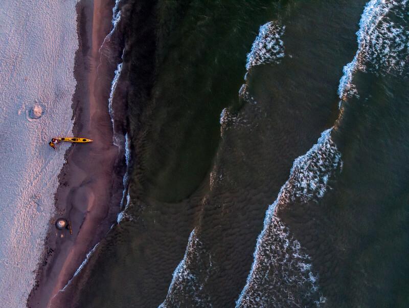 Aleksander Doba kayaked over 110 days non stop
