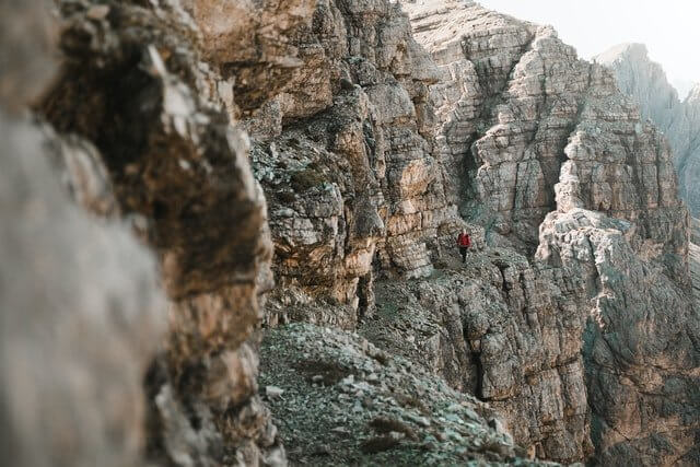 Via Ferratas is the perfect adventure for experienced hikers