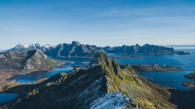 Hiking routes Lofoten