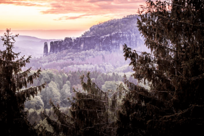 Wild camping Saxon Switzerland