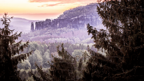 Wild camping Saxon Switzerland