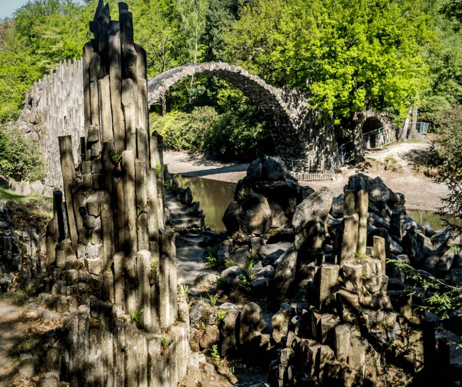 Basalt chamber Rakotzbrücke