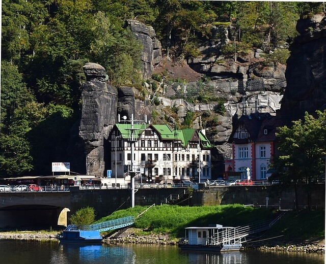 Hotel Labe in Bohemian Switzerland
