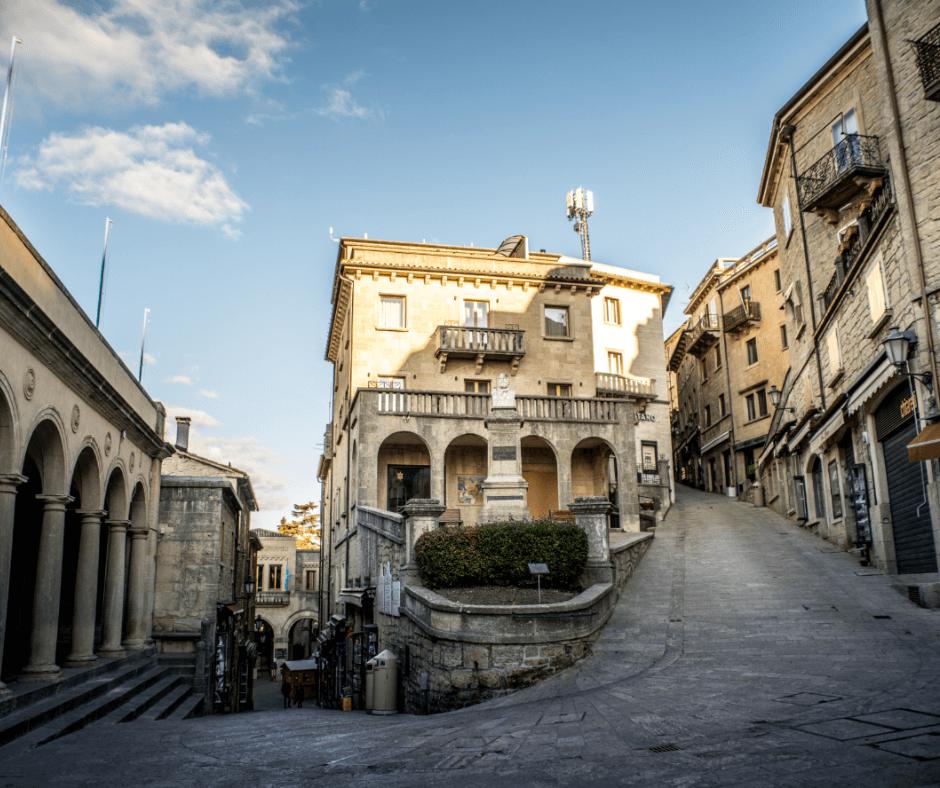roadtrip San Marino _ San Marino Old Town