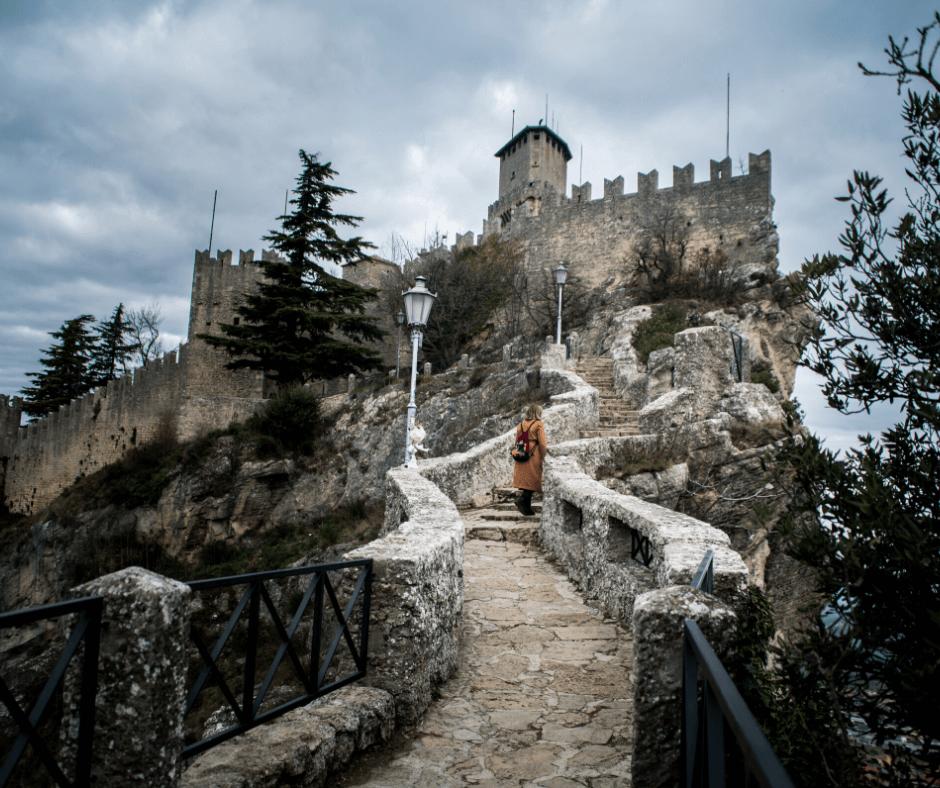 Guaita Tower _ day_trip in SanMarino