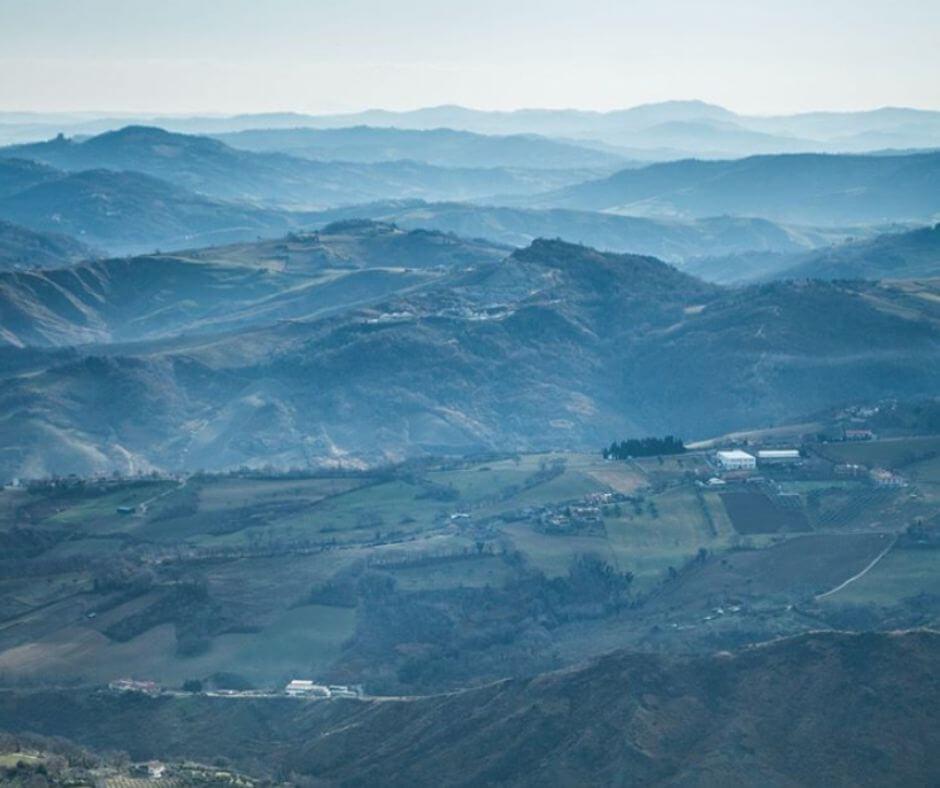 hikingsan-marino Views of San marino