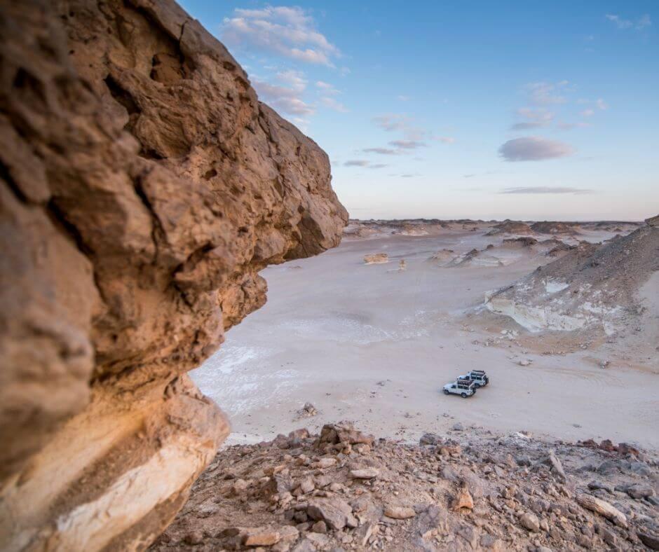 Views of the Desert in Egypt