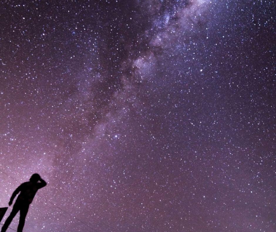Milky way in Texas