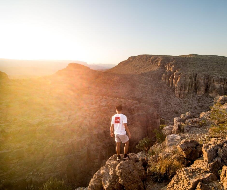Hiking routes at Big Bend National Park -Road trip Texas