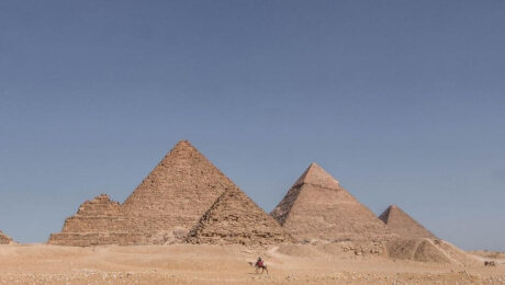 Guide for the pyramids in Giza