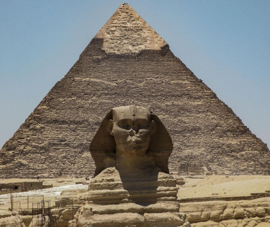 sphinx in Cairo- Pyramids-in-Egypt