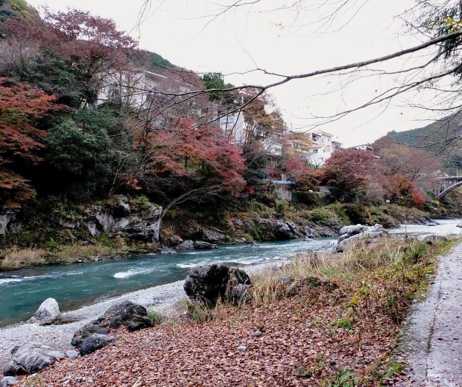 river Mitake- Hiking routes Mitake